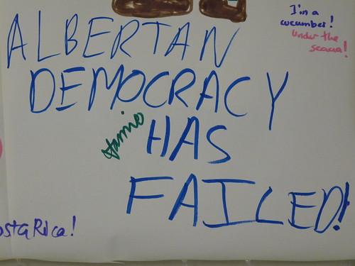 Albertan Democracy Has Failed