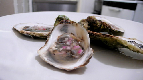 oysters mignonettes