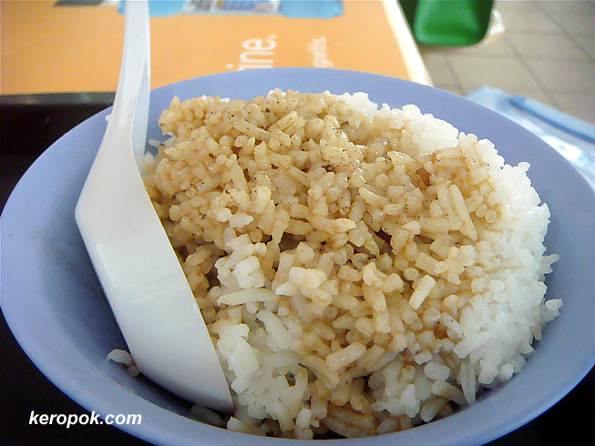 The rice with the 'lor'