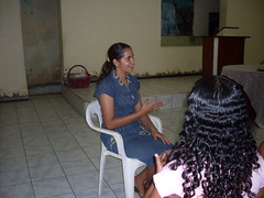 Suzanne Interpreting for the Deaf