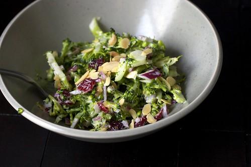 Broccoli Slaw Veggie Feast Dish 1 Enjoy Eat Watch