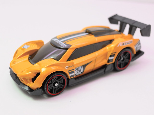 hot wheels super blitzen yellow (2)