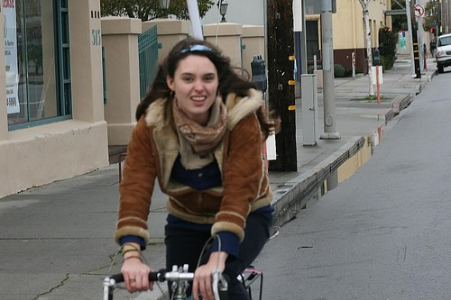 Santa Cruz Bike Girl
