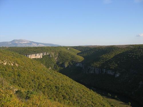 Krka River canyon