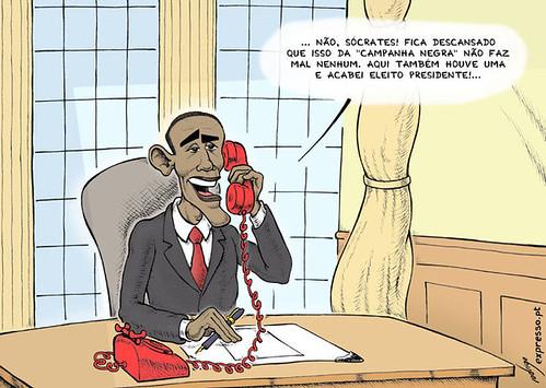 Obama liga para Lisboa