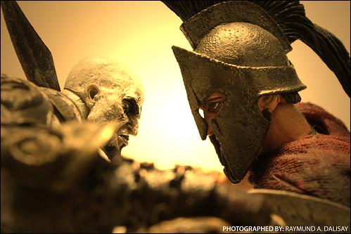 Spartan against Spartan