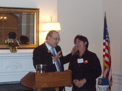 Shawn O'Donnell and Julie Turner