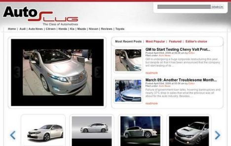 AutosSlug Free WordPress Theme