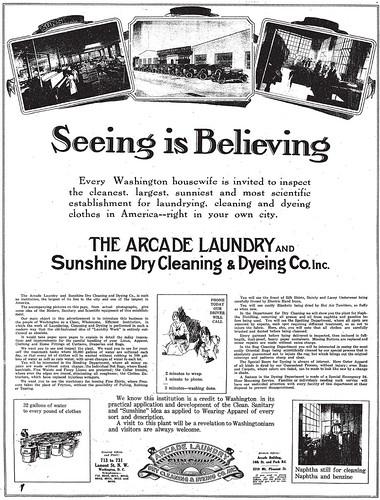 Arcade-Sunshine Laundry 1920