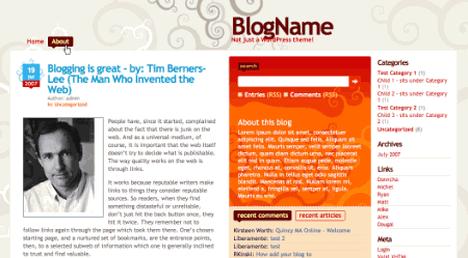 Dilectio Free WordPress Theme