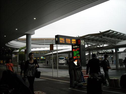 Narita Airport Bus Stop