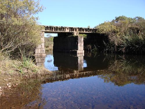 Ponte no Caminho para o Canyon Fortaleza (Férias Junho/2009)