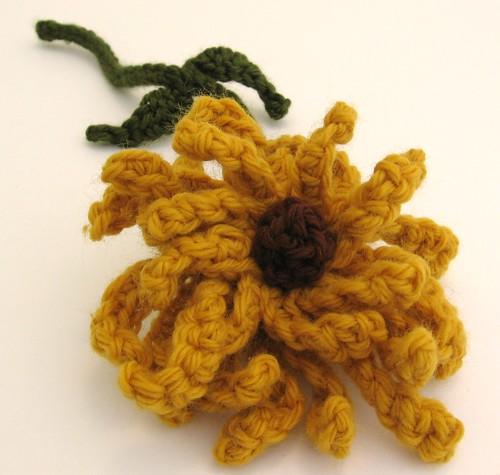 Mustard Yellow Chrysanthemum