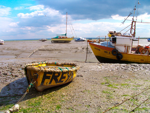Ebb Tide in Leigh-on-sea