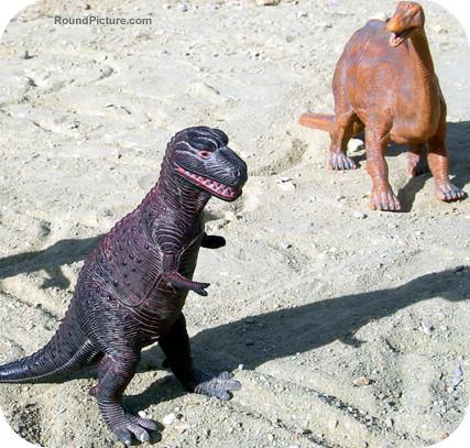 Bolivia - Sucre - Cal Orcko - Dinosaurs