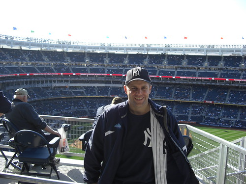 Shawn Collins at the new Yankee Stadium