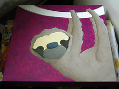 work in progress 20090518 sloth H