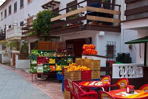 Frutas y verduras: un mundo de color