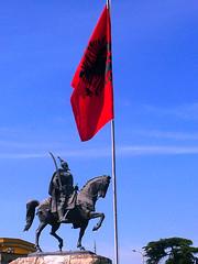 Skanderbeg, Tirana