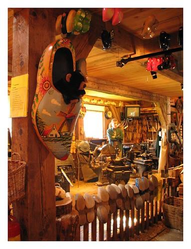 Wooden clog workshop - Zaanse Schans by you.