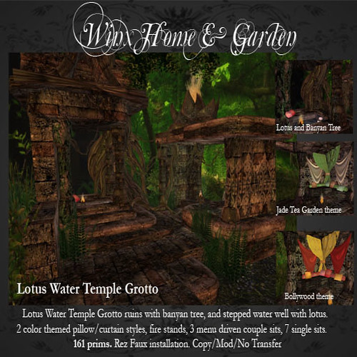 Winx-Lotus Water Temple Grotto Ad