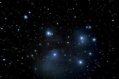 M45-The Pleiades on 2/20/09