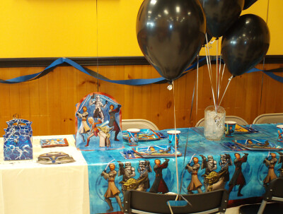 Star Wars Clone Wars party supplies and favor boxes