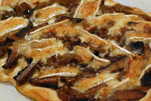 Mushroom and Brie Tart