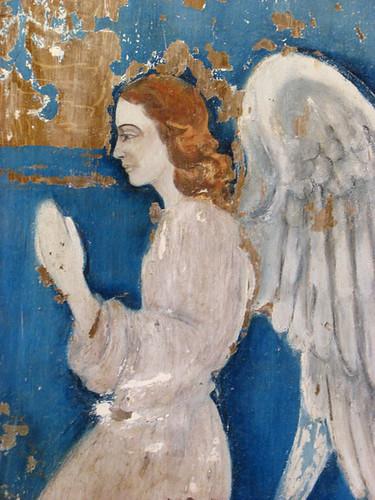 Mural en la iglesia de la cárcel de la Île Royale - CC Nicholas Laughlin