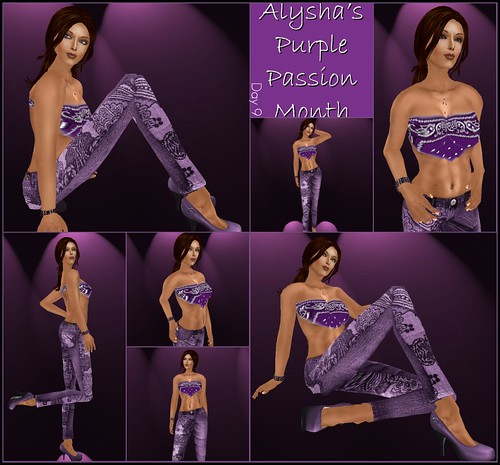 ALY'S PURPLE PASSION MONTH:  DAY 9