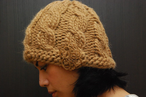 Cabled Toque