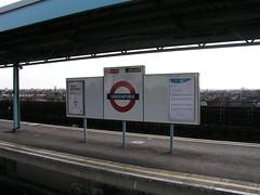Greenford Underground Station, London