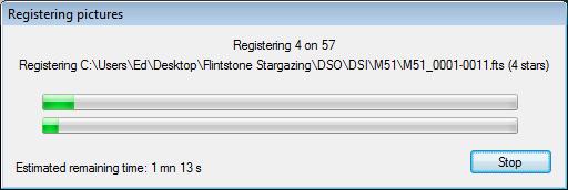 DSS Tutorial: Registering Progress