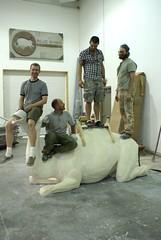 Blue Rhino Guys on Camel