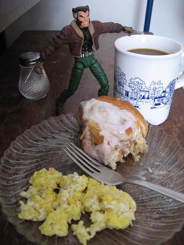 Frokost med Wolverine