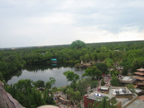 View from Expedition Everest