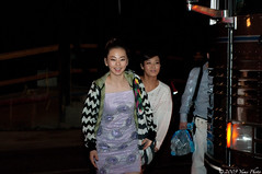 Sohee (소희) and Yubin (유빈)