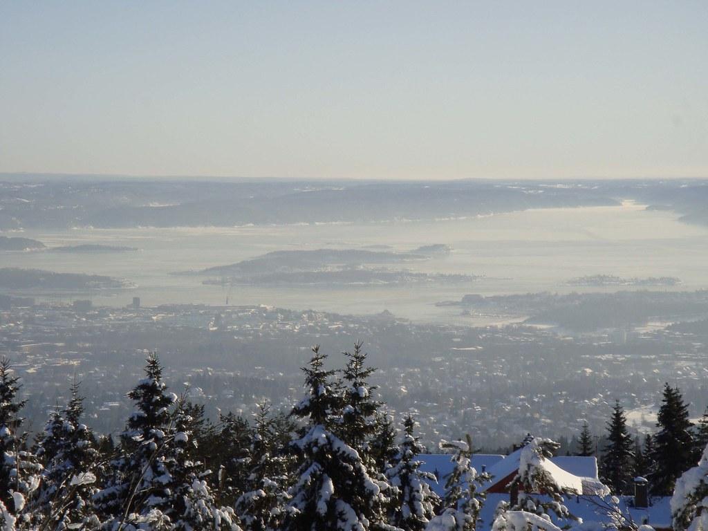 Panorámica del Fiordo de Oslo (desde Holmenkollen)