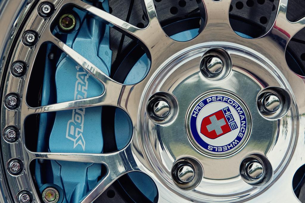 HRE 540s, Rotora Brakes
