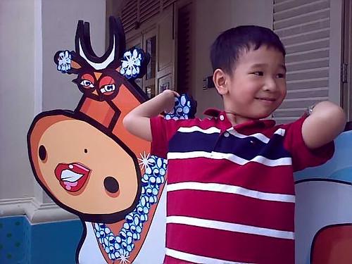 Samuel and the Moos Moos