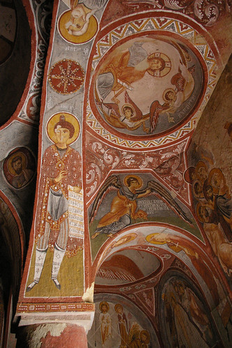 Cappodocia - Museum - Church Fresco 2 by you.