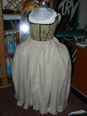 18th c. Costume, petticoat