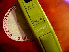 Show Off Your Supplies: Dymo Label Maker