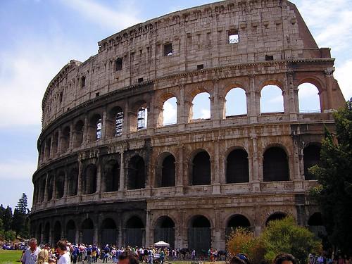 The Colosseum or Roman Coliseum