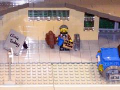 lego gutterman needs lego food for lego gutterdog