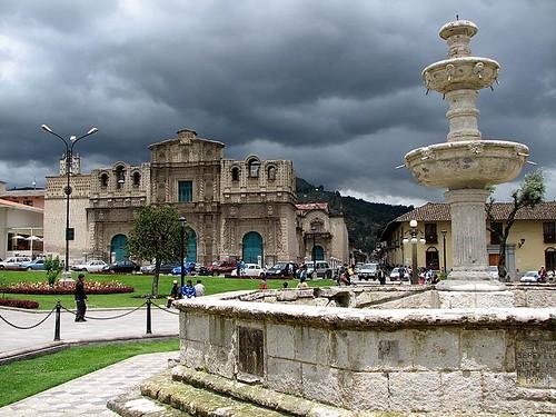 Plaza de armas, Cajamarca
