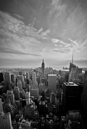 View on the Empire State Building