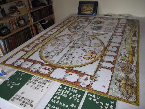 jigsaw 9120 pieces Day 66