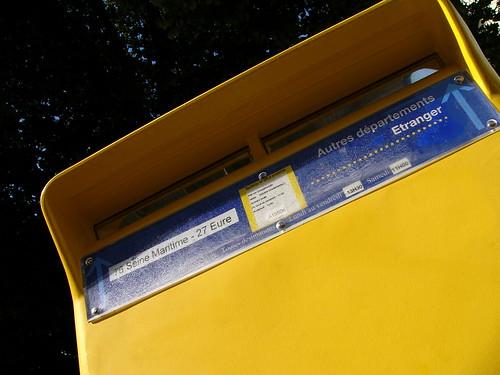 Boîte aux lettres La Poste