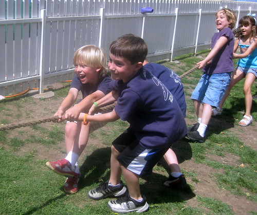 Owen & Devin During the LS Sports Day